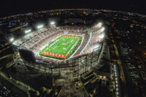 University of Houston TDECU Football Stadium